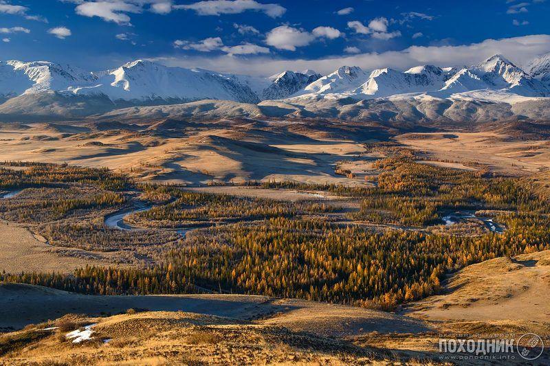 Ещё одно утро в Курайской степи... Горный Алтай.photo preview