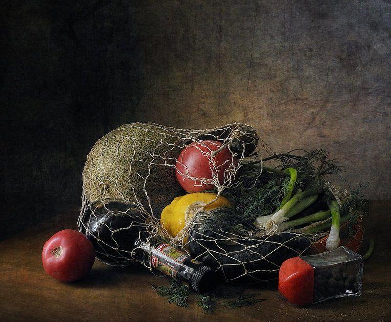 Натюрморт, Овощи, Постный день Постный день...photo preview
