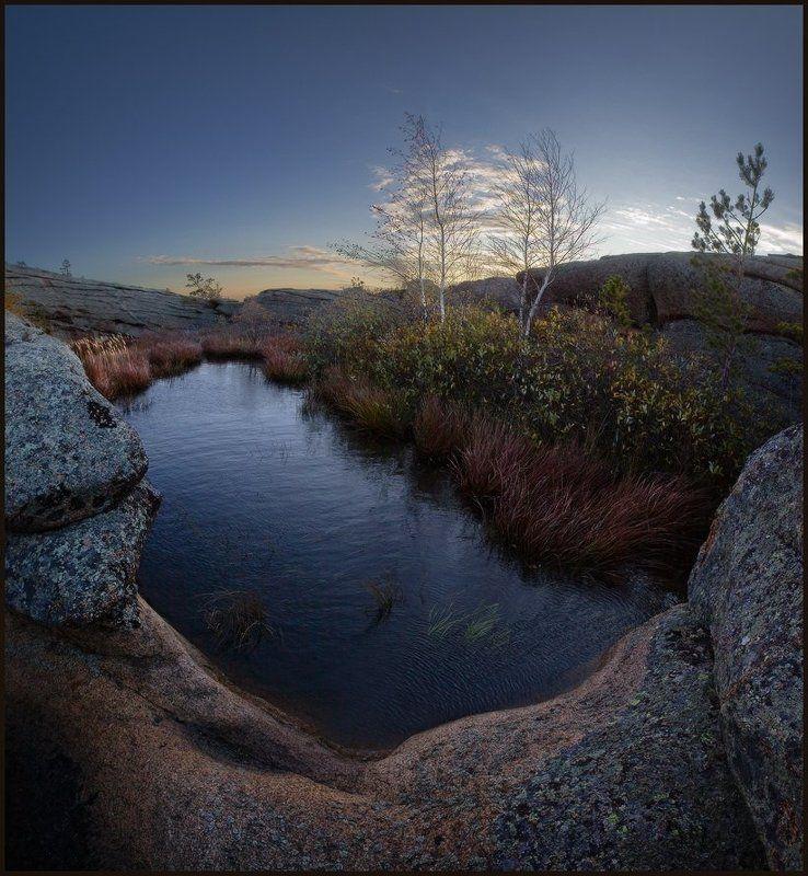 Вода, Горы, Казахстан, Каркаралы, Скалы, Утро, Ярославский Виталий Солнце взойдёт...photo preview
