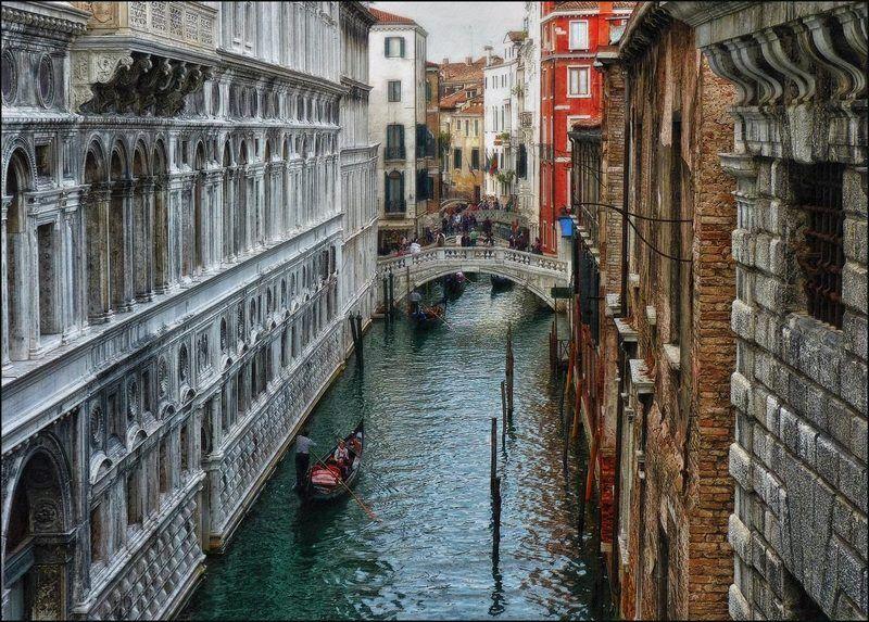 Венеция, Италия Каналы Венецииphoto preview