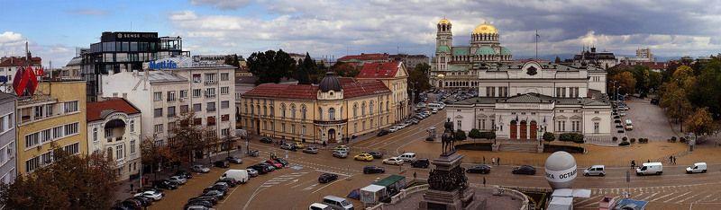 Болгария, Достопримечательности, София Площадь Народного Собранияphoto preview