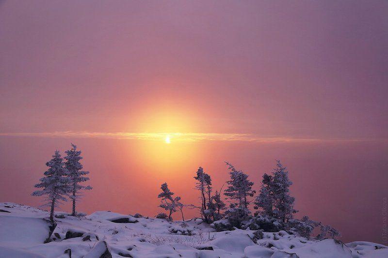 Зимний Таганай. Утро.photo preview
