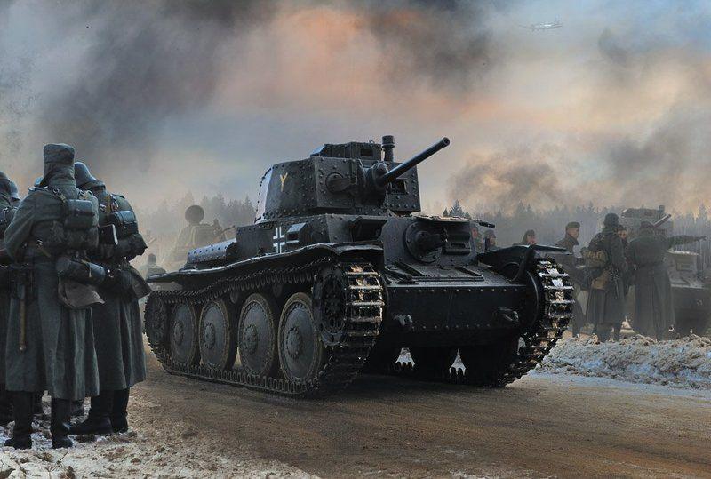 война, немцы, танк, солдат, pzkpfw 38(t) praga PzKpfw 38(t) Pragaphoto preview
