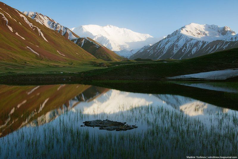 Lenin Peak Lakephoto preview