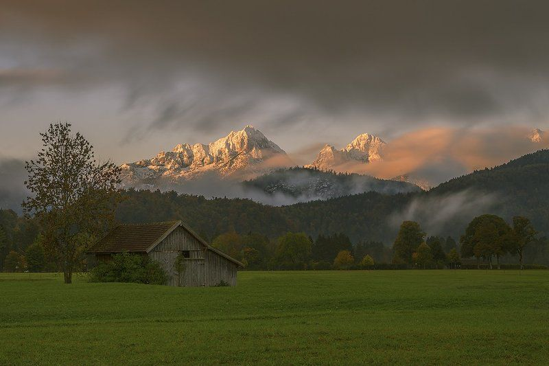 Bavarian alps...photo preview