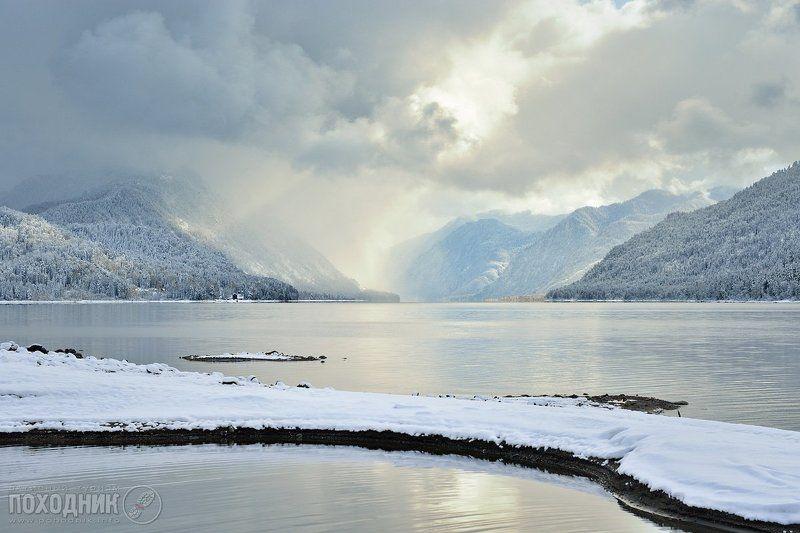 Утро на Телецком озере. Горный Алтайphoto preview