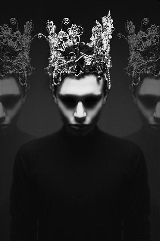 портрет, черно - белое ***photo preview