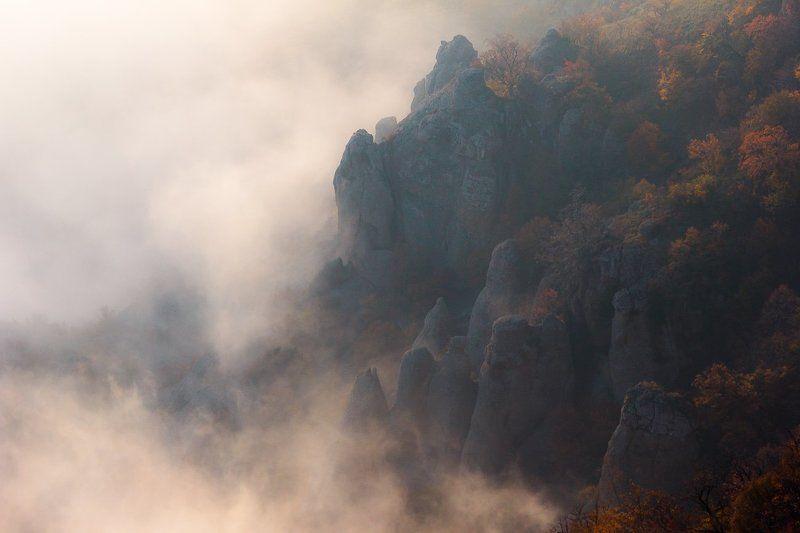 горы в облаках, демерджи, демирджи, крым Мое знакомство с Демерджи. часть 4photo preview