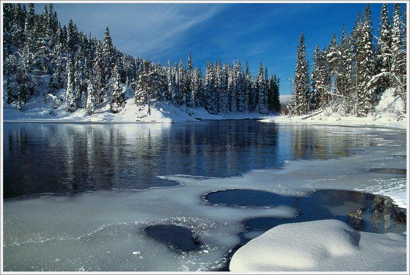 Карелия.Очертания зимы.photo preview