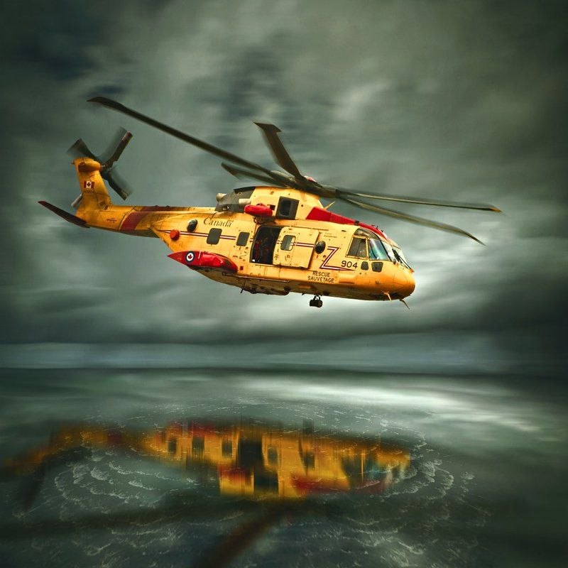 Helicopter, Rescue, Sea, Sky, Storm S.O.Sphoto preview