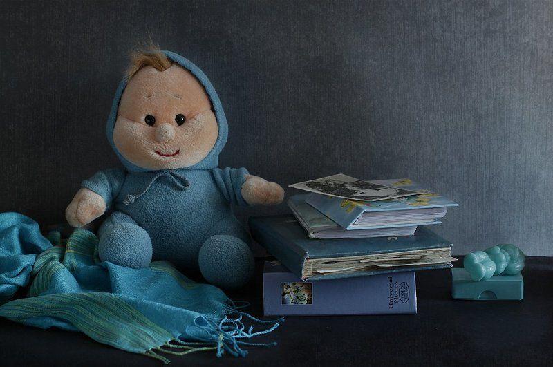 натюрморт Голубые мечты, или Куда уходит детствоphoto preview