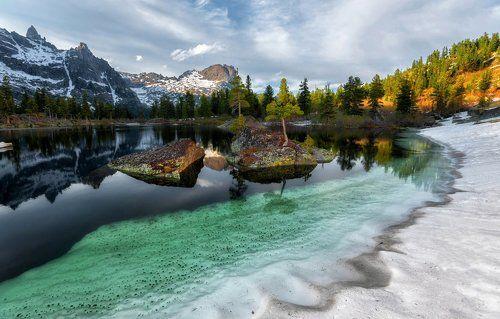 Как мы открыли сезон фотографов на озере Художников.