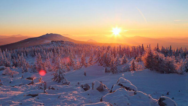 Зимний Зюраткульphoto preview