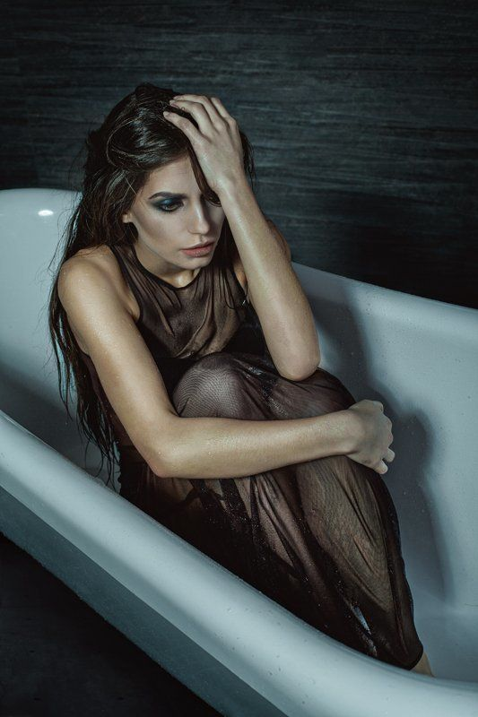 dark, beauty, portrait, desperation, girl, ivanna pritula Desperationphoto preview