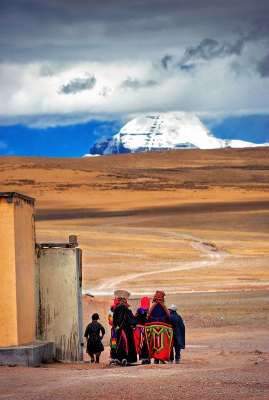 буддизм, гора, горы, кайлас, паломничество, тибет Дорога на Кайласphoto preview
