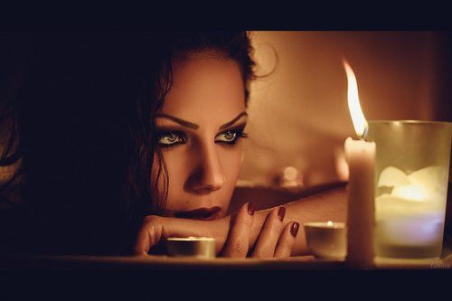 одинокая женщина фото