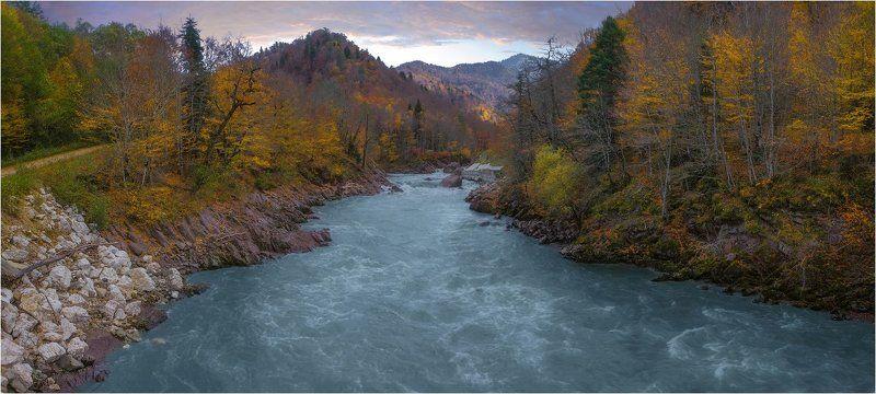Осень, Река белая ***photo preview