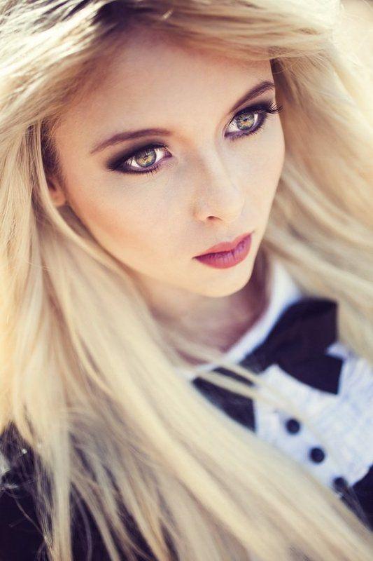 Beauty, Blond, Girl, Взгляд, Глаза, Девушка, Красота, Портрет ***photo preview