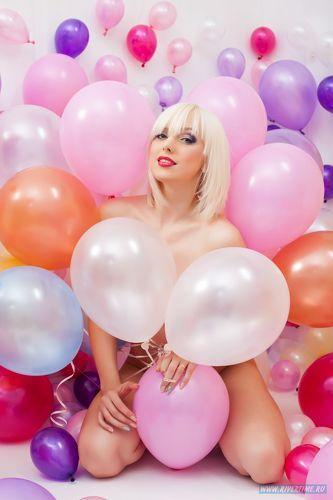 Фото секс на воздушных шарах