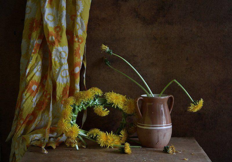 цветы, натюрморт Плету венокphoto preview
