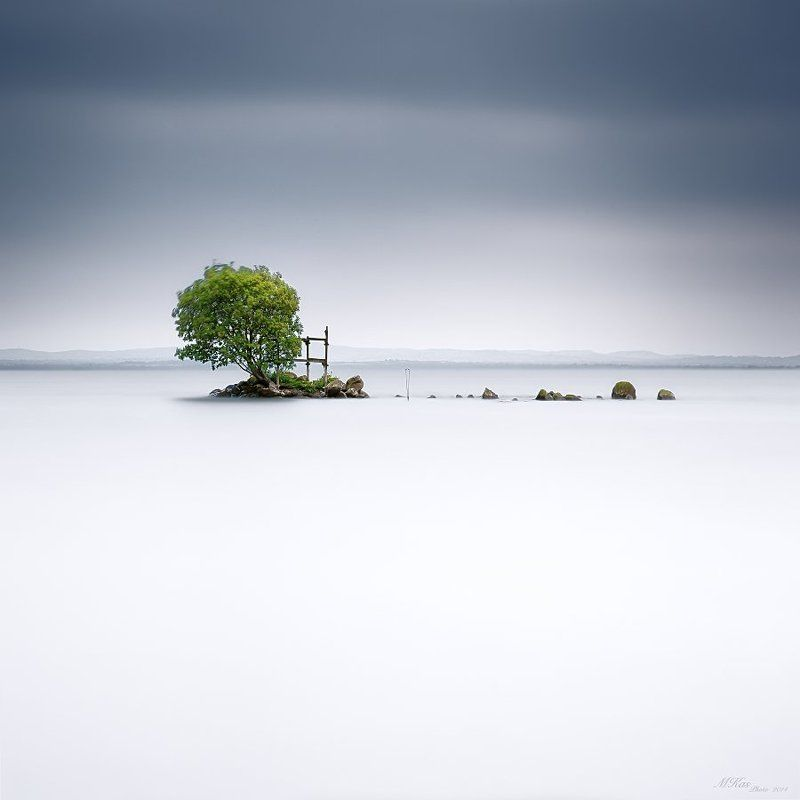 Island, Long exposure, Lough Neagh, Northern ireland, Stones, Tree Lough Neaghphoto preview