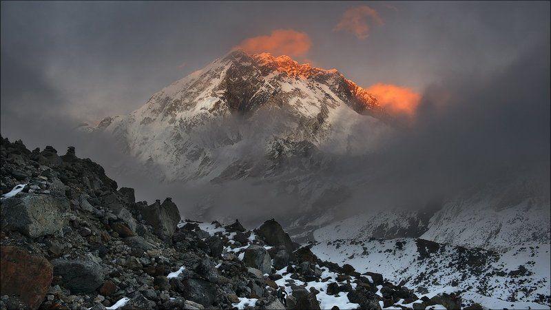 Nepal, Nuptse, Горы, Закат Nuptse...photo preview