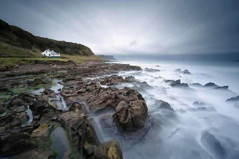 Ballycastle, Long exposure, North Coast, Northern ireland, Rain, Seascape North Coastphoto preview