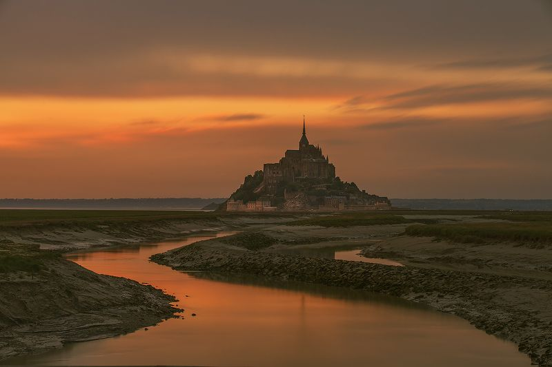 Le Mont Saint-Michel..photo preview