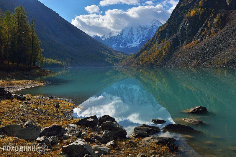 Нижнее Шавлинское озеро. Горный Алтайphoto preview