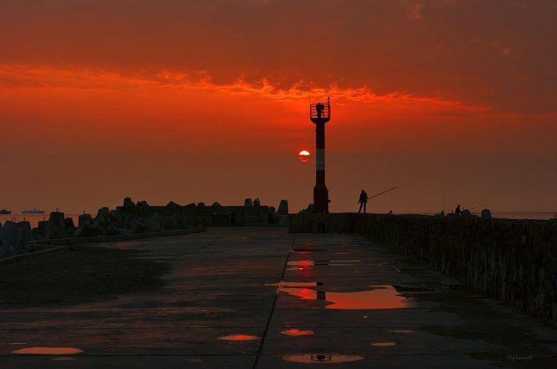 Северный мол и балтийское небоphoto preview