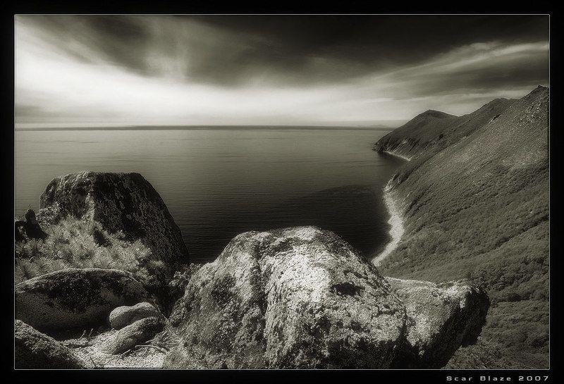 магадан, бухта светлая, oхотское море ***photo preview