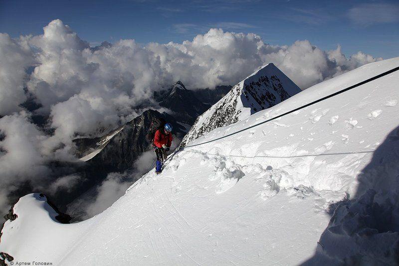 Алтай, Альпинист, Восхождение На перилахphoto preview