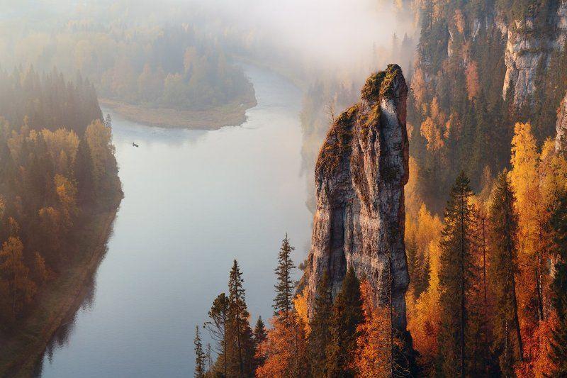 Пейзаж, Пермский край Чертов палецphoto preview