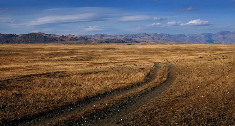 горный алтай, чуйская степь Дороги поднебесьяphoto preview
