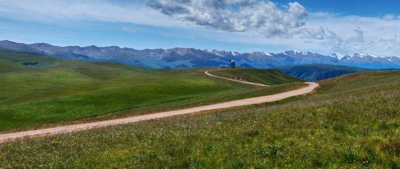 казахстан, пейзаж, плато, горы, панорама, kazakhstan, plateau, landscape, panorama Плато Ассыphoto preview