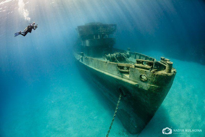 USS Kittiwake. Три с половиной года под водой.photo preview