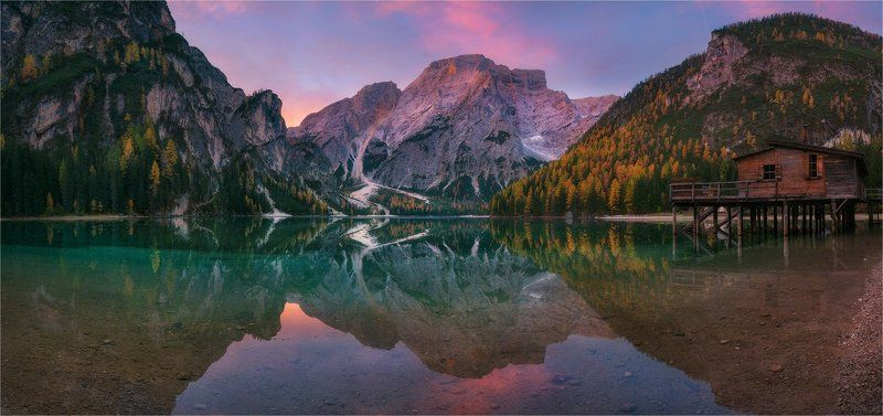 «Tales of Dolomites - Lago di Braies»photo preview
