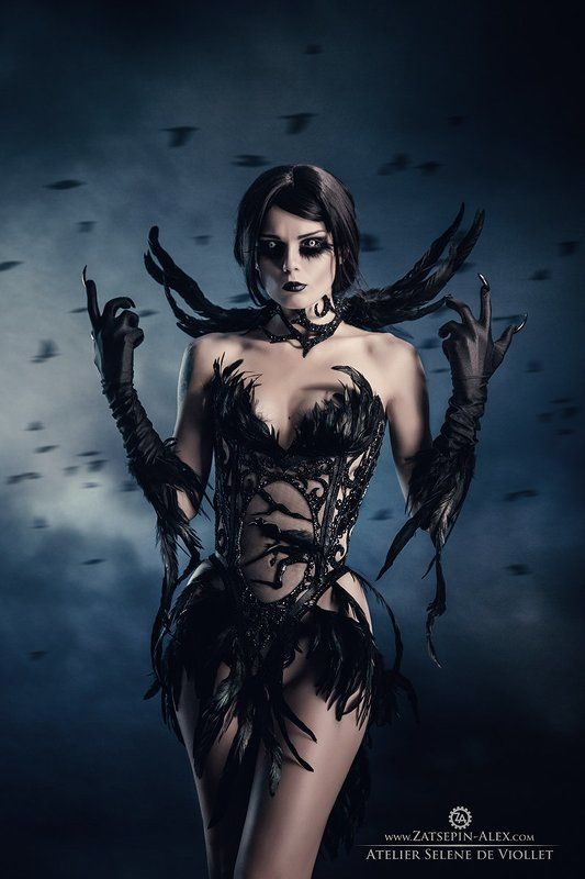 Dark, Darkart, Darkfashion Corvus for Atelier Selene de Violletphoto preview