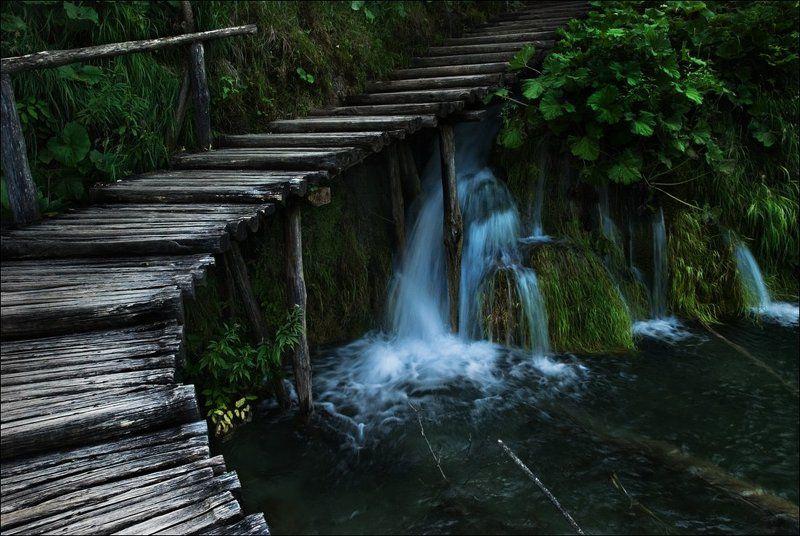 На Плитвицких озёрахphoto preview