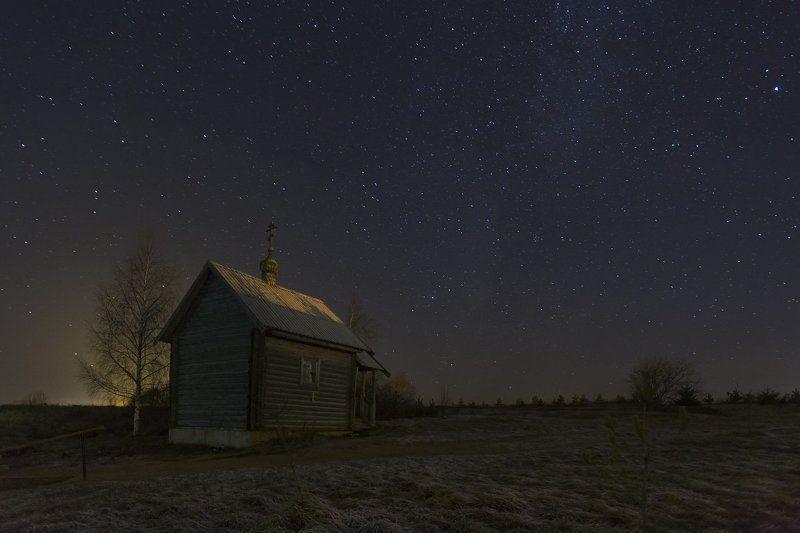 Часовня над источником в Старом Ракомо Новгородской областиphoto preview