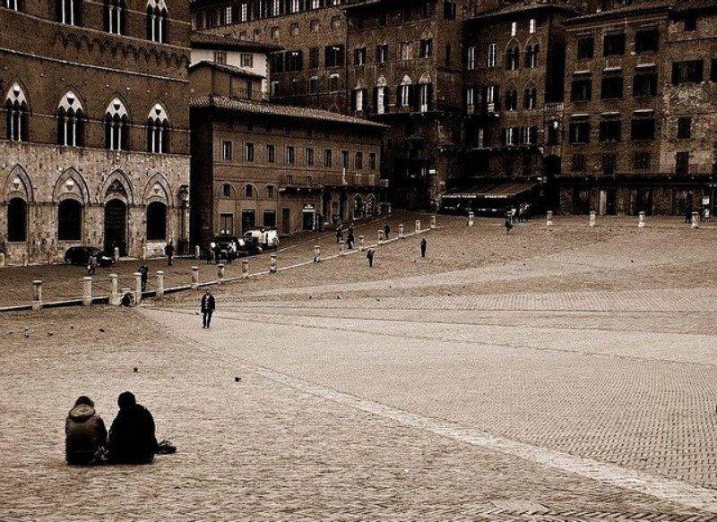 тоскана, , сиена, площадь Сиенаphoto preview