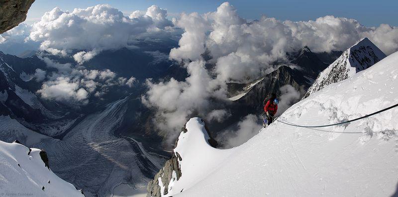 Алтай, Альпинист, Белуха, Восточная белуха, Траверс Последние метрыphoto preview