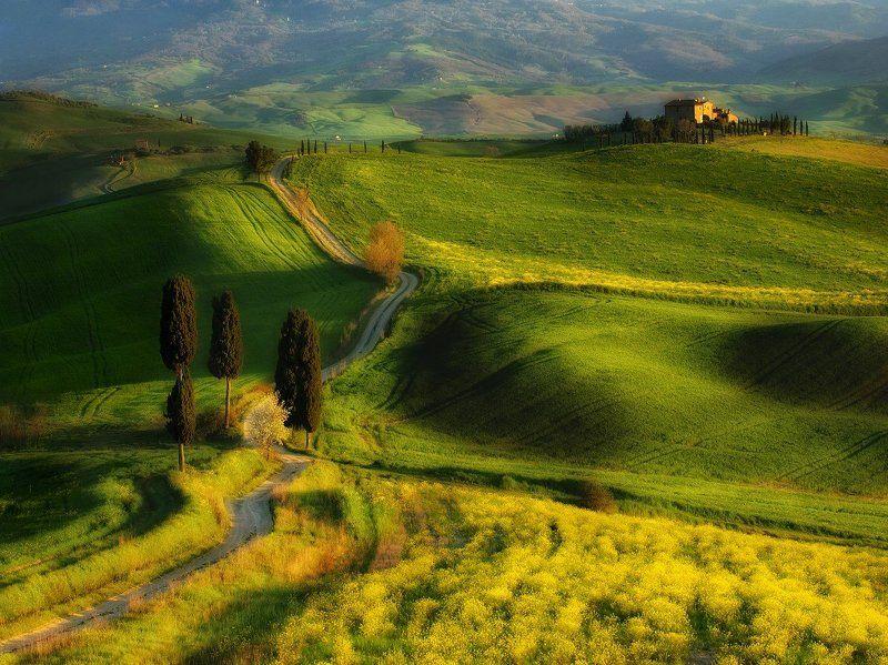 Italy, Pienza, Tuscany Terrapillephoto preview