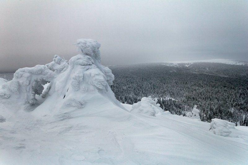 Пейзаж, Северный урал Царство Деда Мороза.photo preview