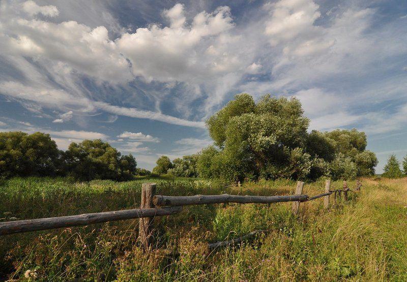 И снова за околицей гуляют облакаphoto preview