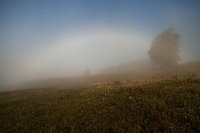 HelgaNovak, Nature, Rainbow, Белая радуга, Радуга Белая радугаphoto preview