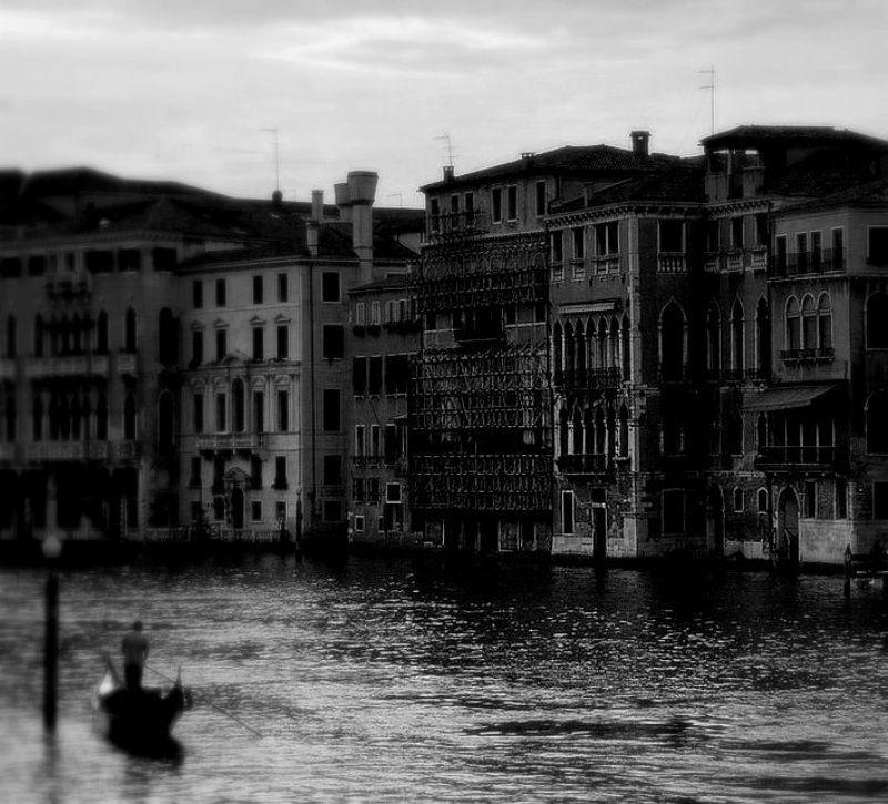 венеция, гондольер, риальто &&photo preview