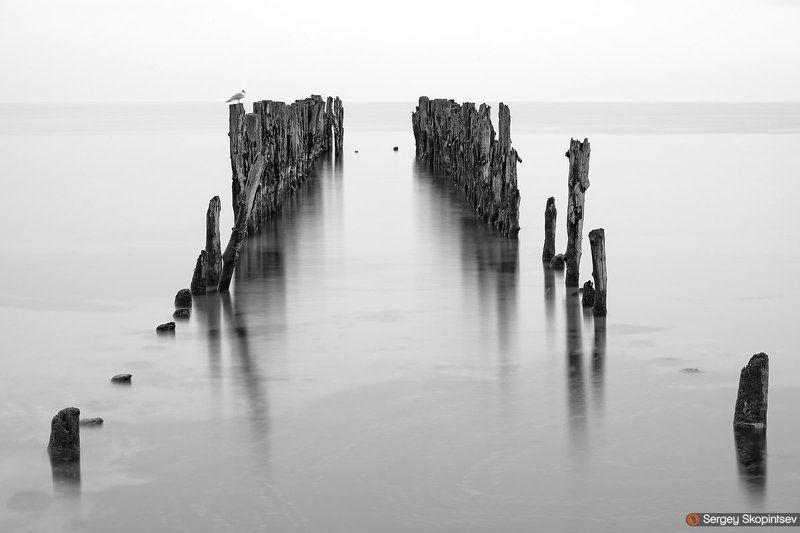 Baltic sea, Rain, Sea, Seascape Seaphoto preview