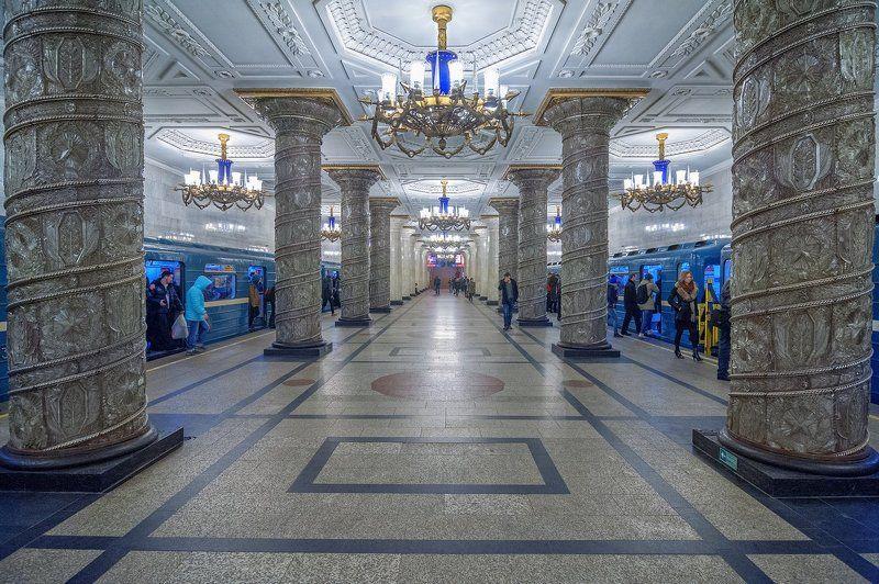 Петербургский метрополитен_станция Автово. Автово.photo preview