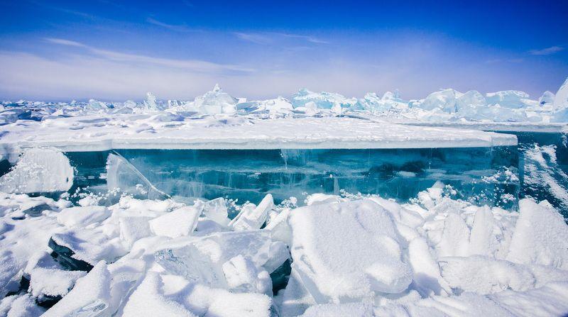 лед, Байкал, зима, озеро, Ольхон Льды Байкалаphoto preview